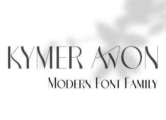Kymer Awon Sans Serif Font
