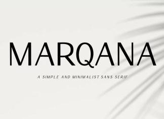 Marqana Sans Serif Font