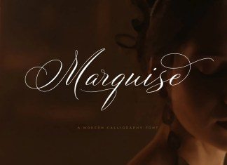 Marquise Calligraphy Font