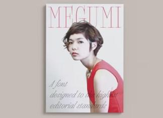 Megumi Serif Font