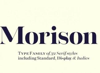 Morison Serif Font