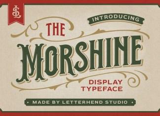 Morshine Display Font
