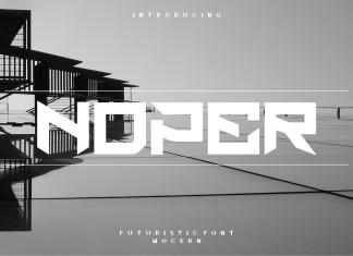 Noper Font