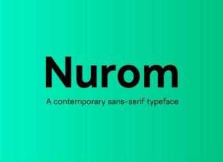 Nurom Sans Serif Font
