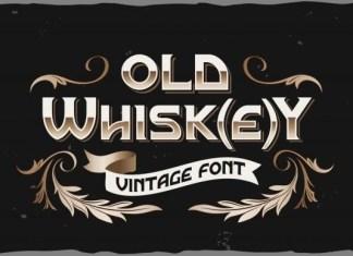 Old Whisk(e)y Display Font