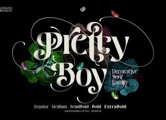 Pretty Boy Display Font