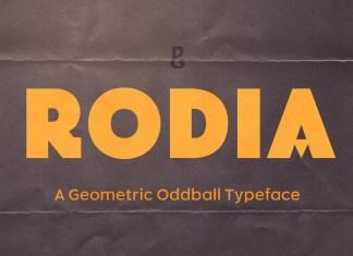 Rodia Sans Serif Font