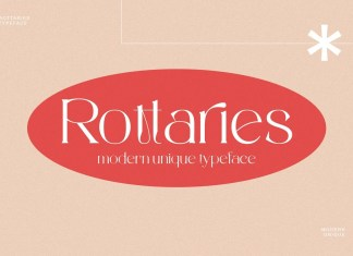 Rottaries Serif Font