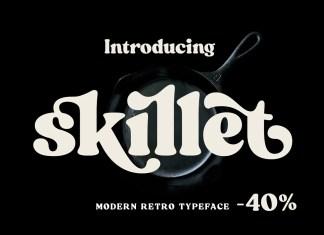 Skillet Serif Font