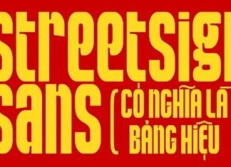 StreetSign Sans Serif Font