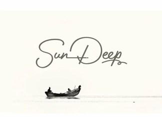 Sun Deep Handwritten Font