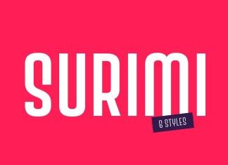 Surimi Display Font