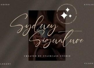 Sydney Signature Script Font