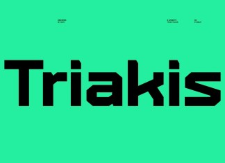 Triakis Display Font