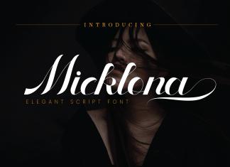 Micklona Script Font