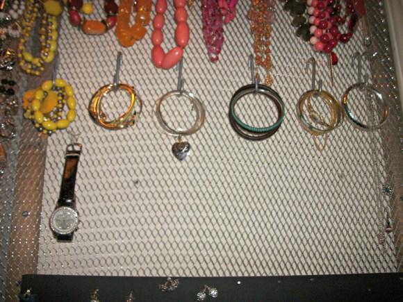 bracelets row
