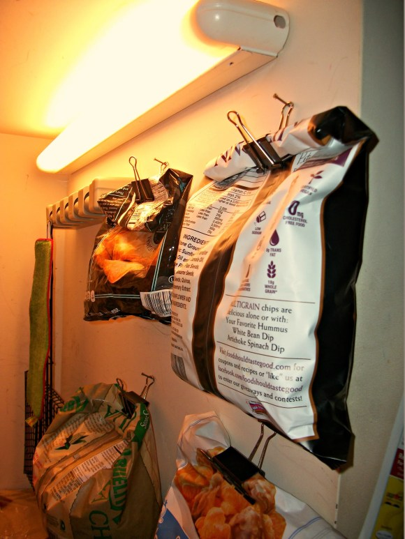 hanging in pantry