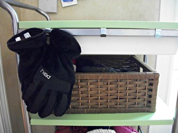gloves drying