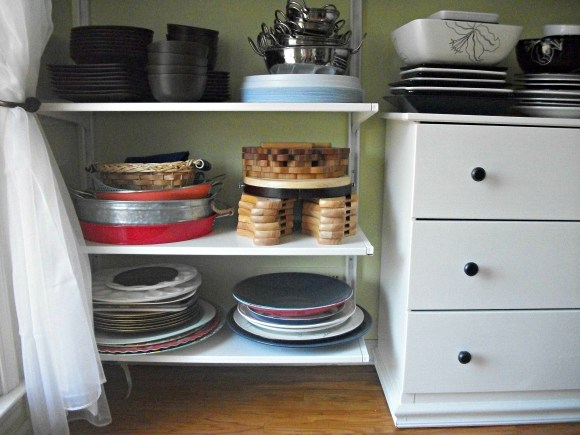 shelves and drawer unit