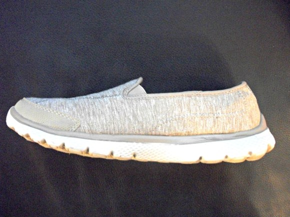 Side view memory foam shoe