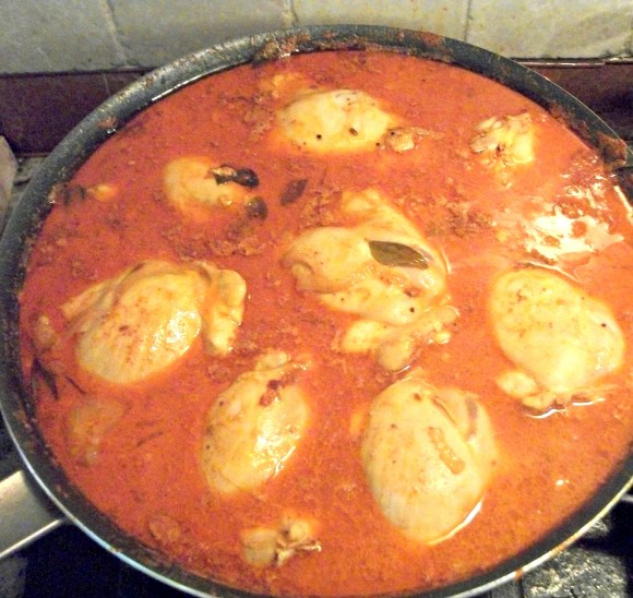 Kerali-style Indian chicken curry. Meal Inspiration Monday from Before3pm.com