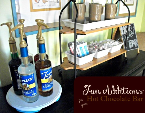 Make your hot chocolate bar really fun with this simple additions. Before3pm.com