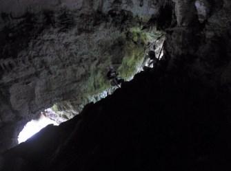 120' Repel in Cueva del Arco
