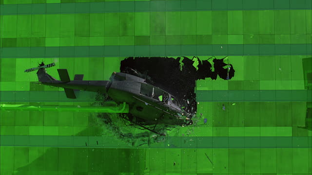 The Matrix's' stunning helicopter VFx