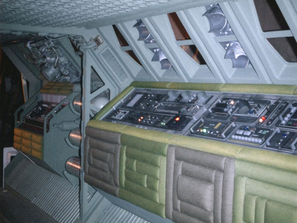 Nostromo panels that Lowe worked on