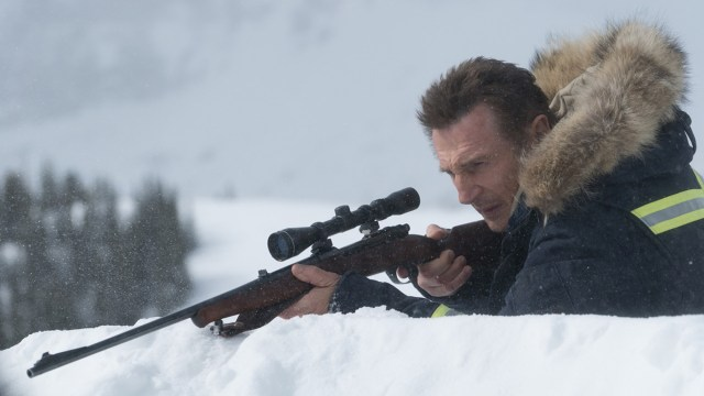 Cold Pursuit scene