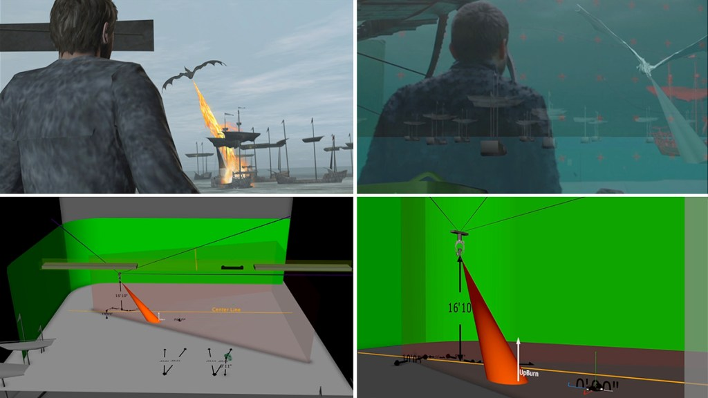 Simulcams, LEDs for eyelines and previs'd flamethrowers: planning Drogon's revenge attack