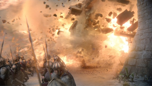 Game of Thrones blow scene