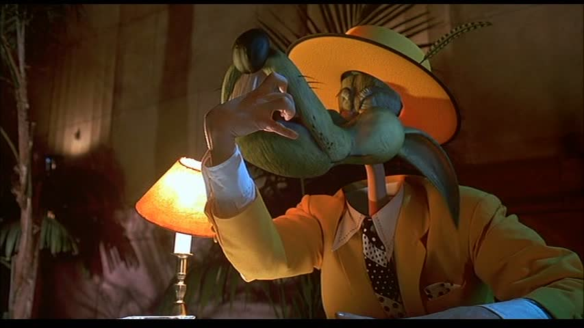 The Mask final shot