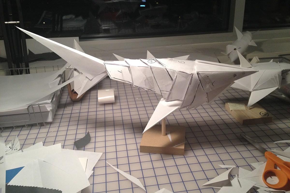 Paper sculpting