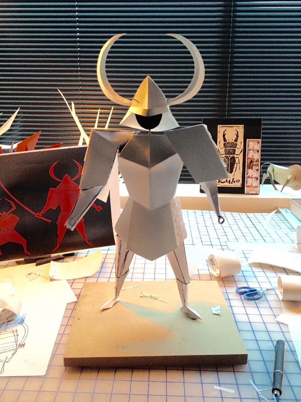 Paper sculpting
