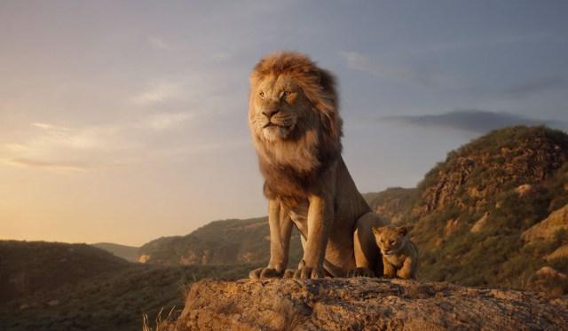 Lion king movie scene