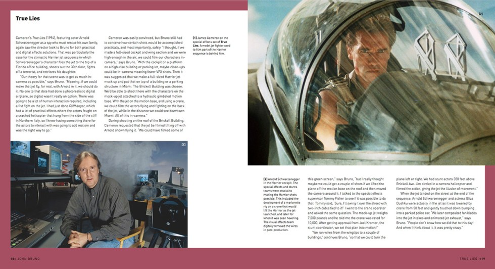 in the section on overall VFX supe John Bruno