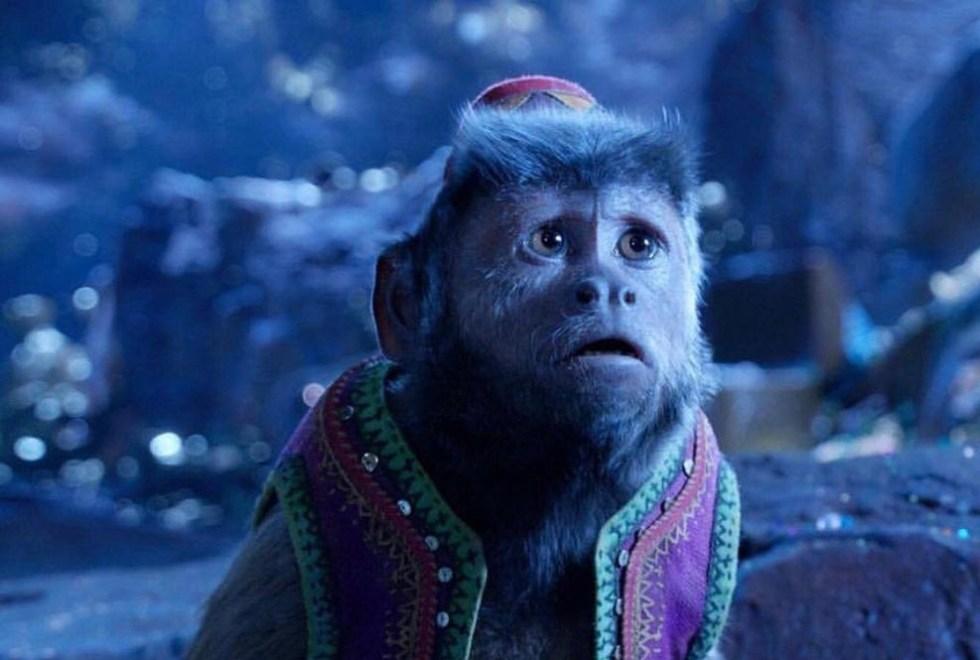 Monkey in Aladdin