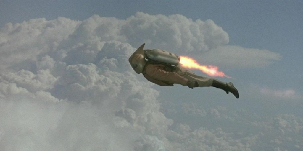 The stop-motion effects of 'The Rocketeer'