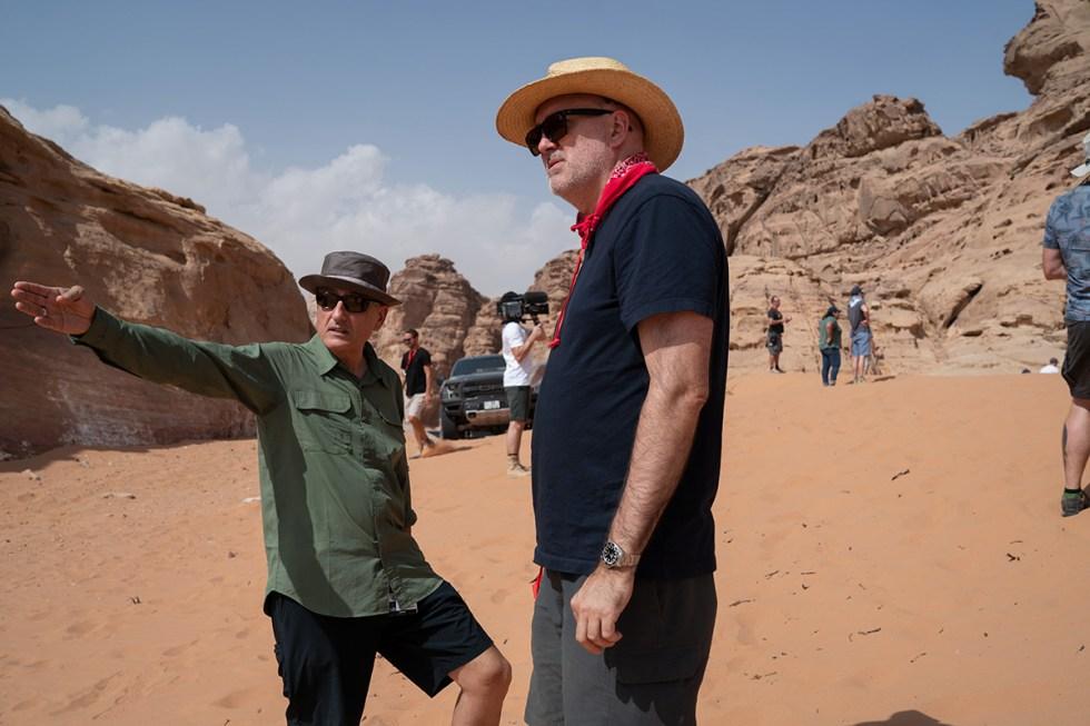 Dan Mindel and Roger Guyett
