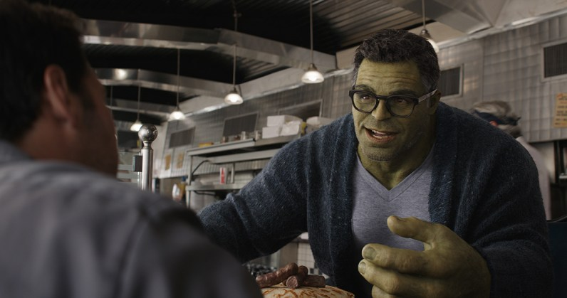 Hulk after VFX