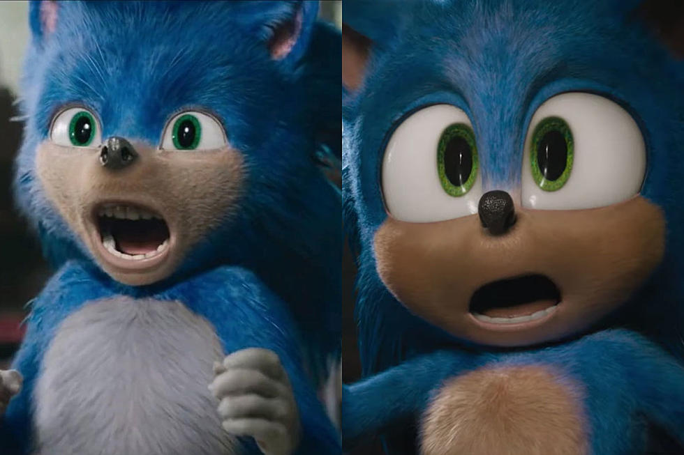 Sonic redesign compares