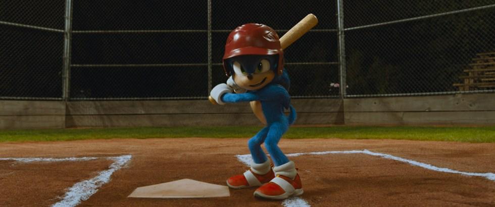 Sonic movie  shot