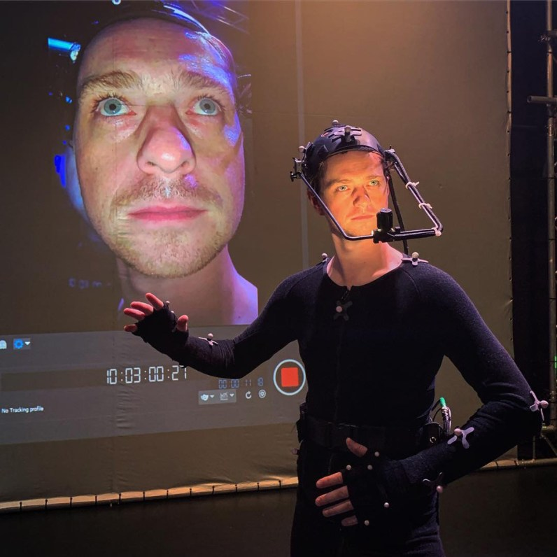Shanks in mocap.