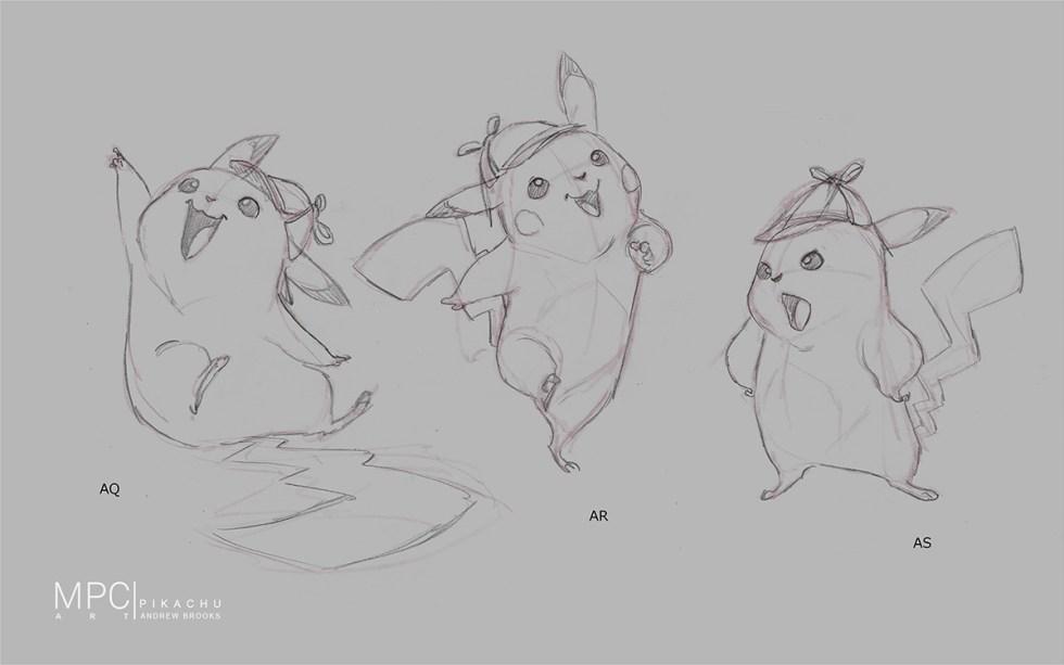 Detective Pikachu: pencil art