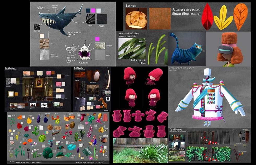 Textures and materials exploration
