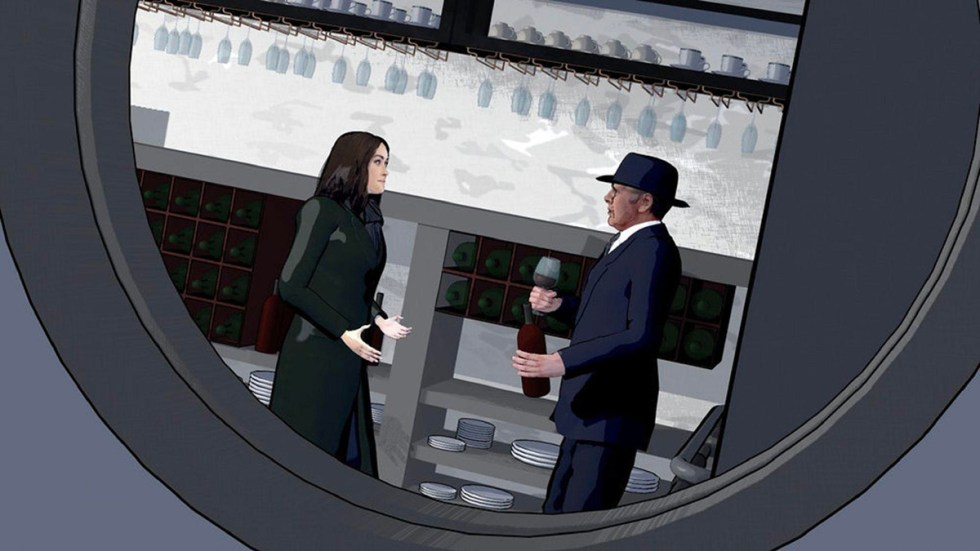 A scene from The Blacklist
