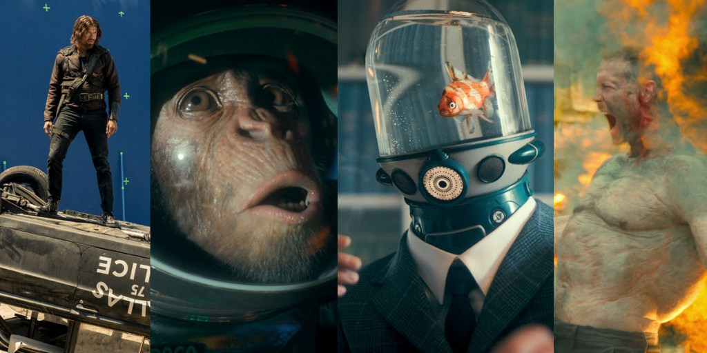 Wait, there's a talking goldfish!? These are the killer VFX scenes from s2 of 'The Umbrella Academy'