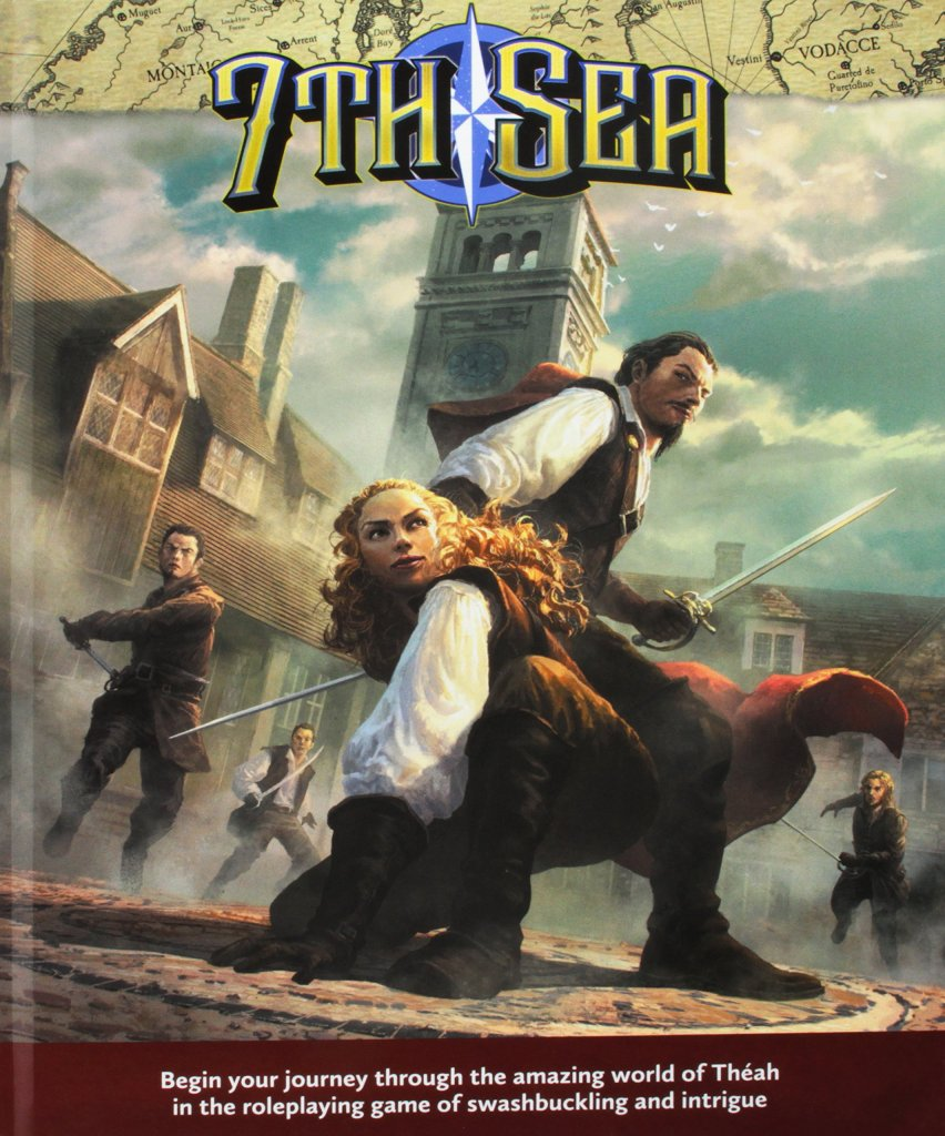 Cover of 7th Sea RPG Manual