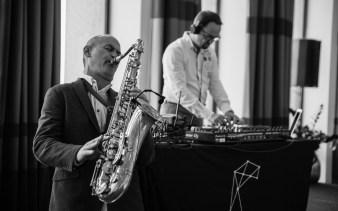 Duo saxophoniste et DJ